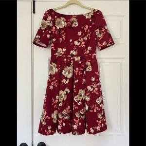 WHBM Floral Dress 4